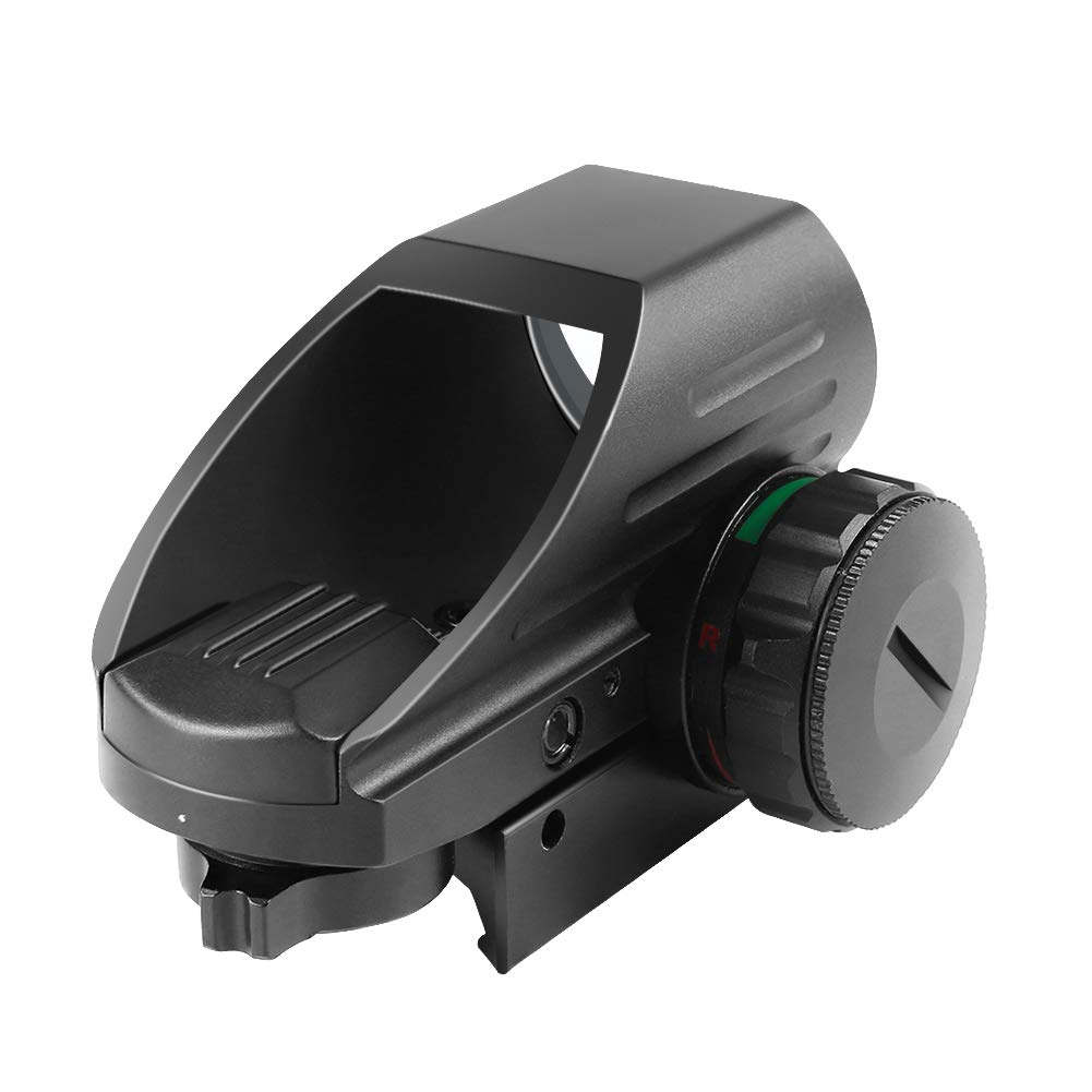 provides a wide field of view, suitable for rapid-firing