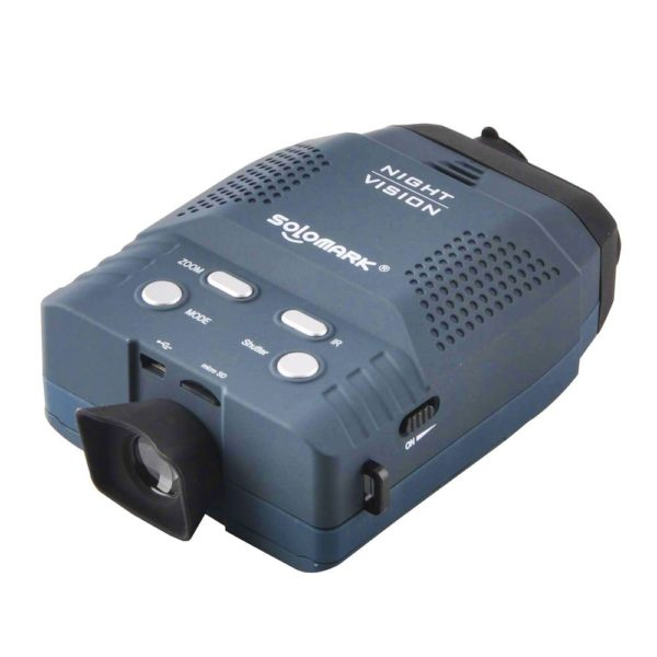 A great gadget which enable you to observe target in complete darkness. Ideal for a wide variety of uses such as surveillance, nighttime hunting wildlife observation and exploring caves.